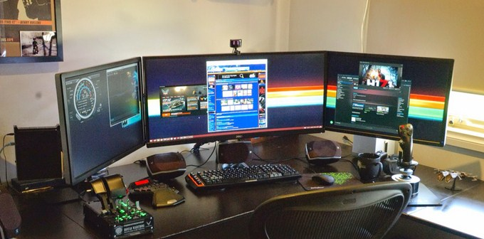 Monitor computers