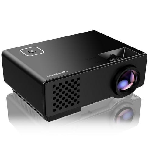 DBPOWER RD810 Mini Projector