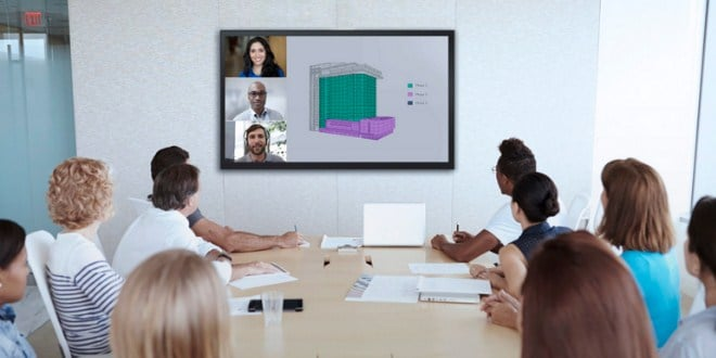 Choosing a monitor for video conferencing