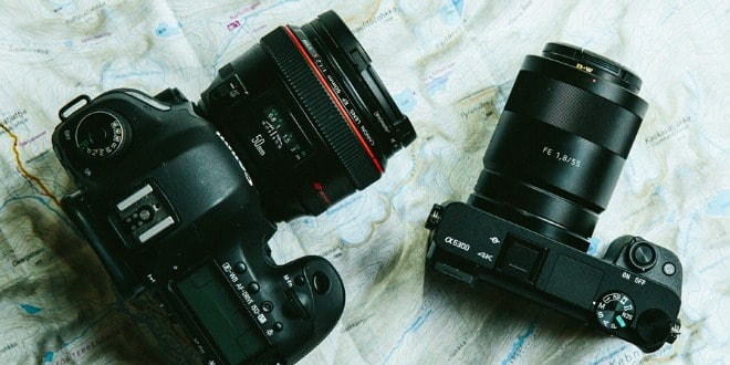 Mirrorless vs. DSLR Cameras