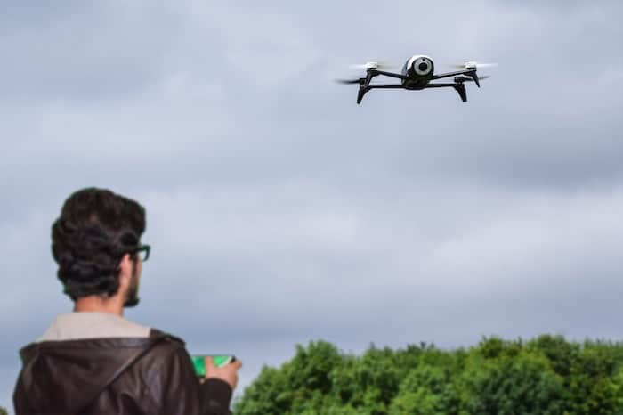 flying time of the drone