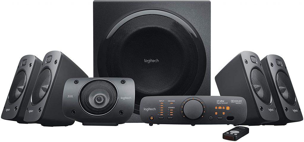 Logitech Z906 feature