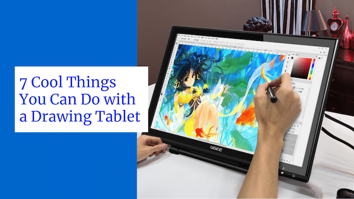 things to do with a drawing tablet